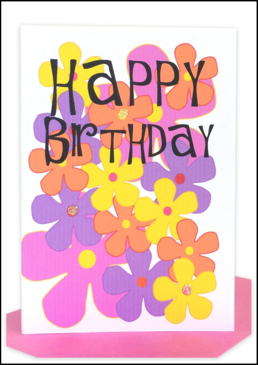Happy Birthday Gift Card Cake Pink Lils Wholesale Cards