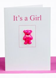 baby girl greeting card wholesale
