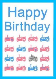 """Happy Birthday"" Tractors"
