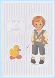 It's a Boy Greeting Card