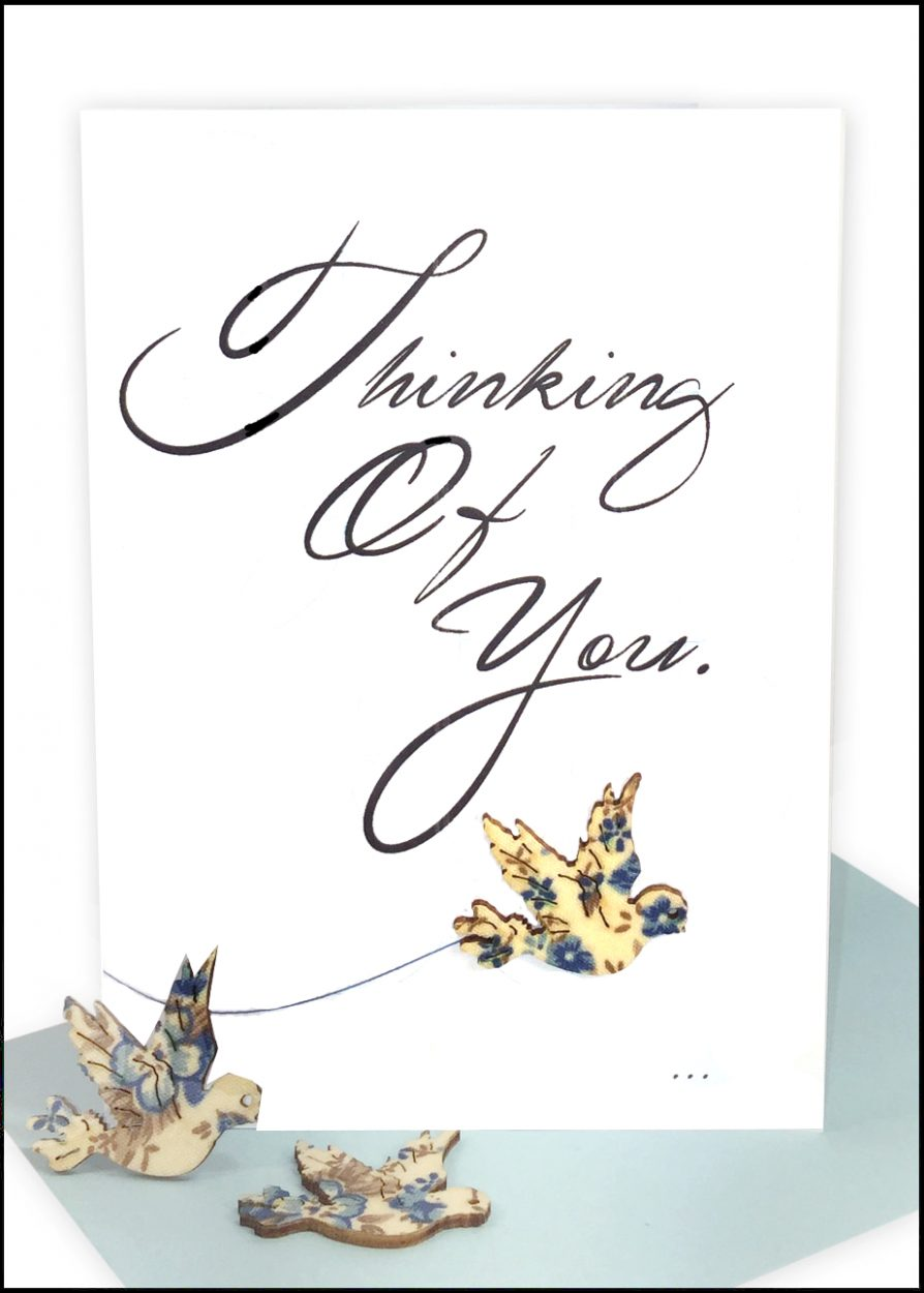 Sympathy Greeting Card Dove