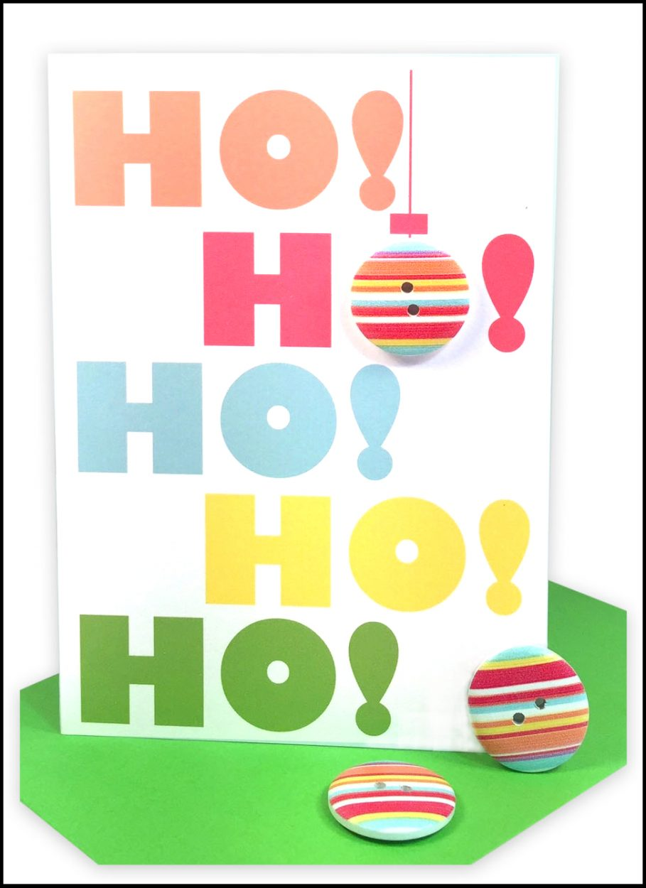 wholesale bulk Christmas Cards HO HO HO HO HO