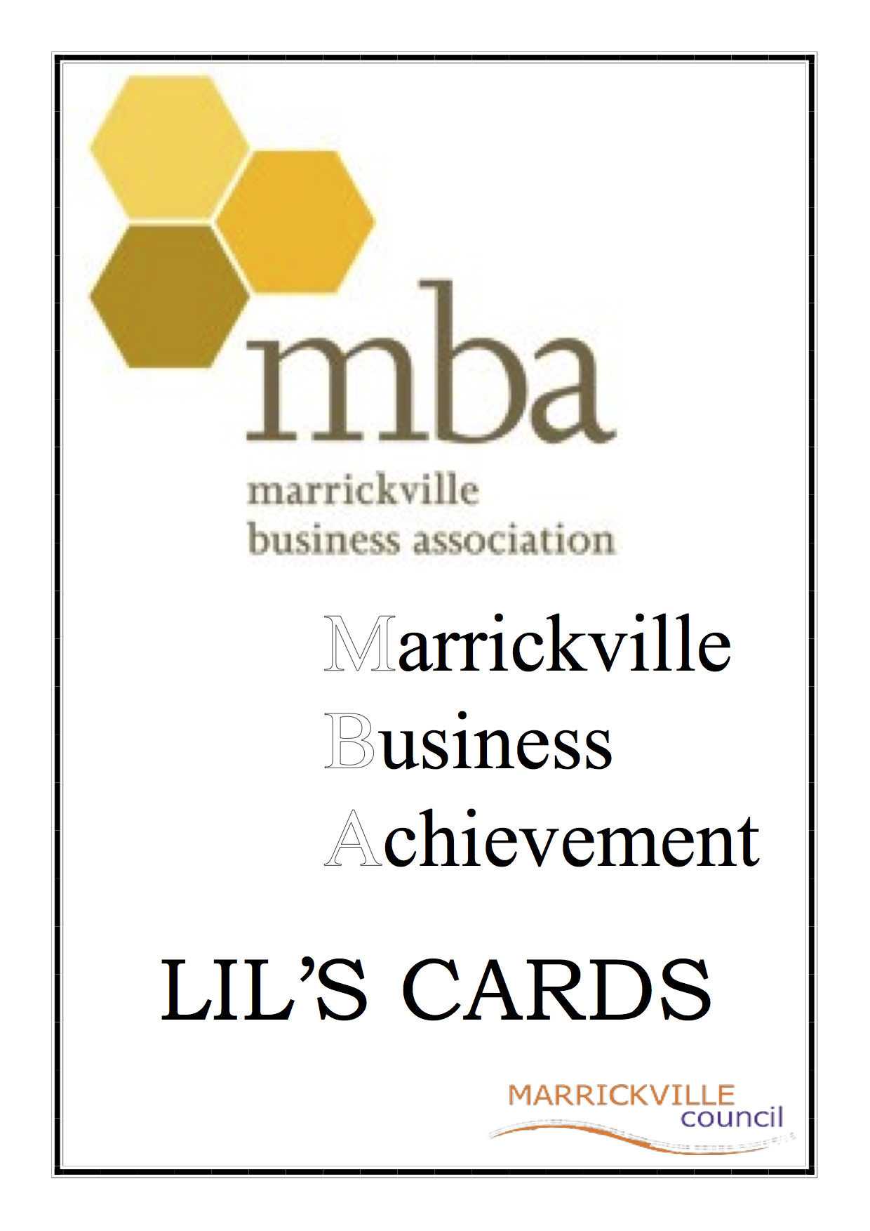 MBA Business Awards