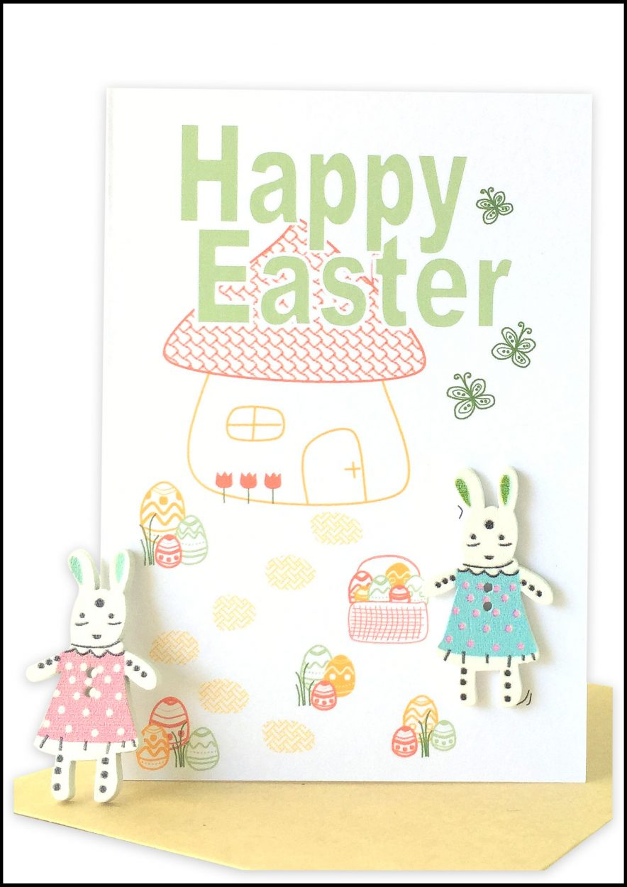 wholesale Happy Easter Greeting Card