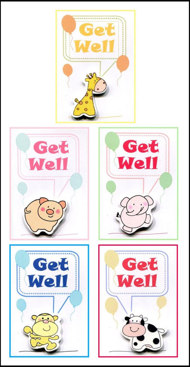 Get Well Set of Cards