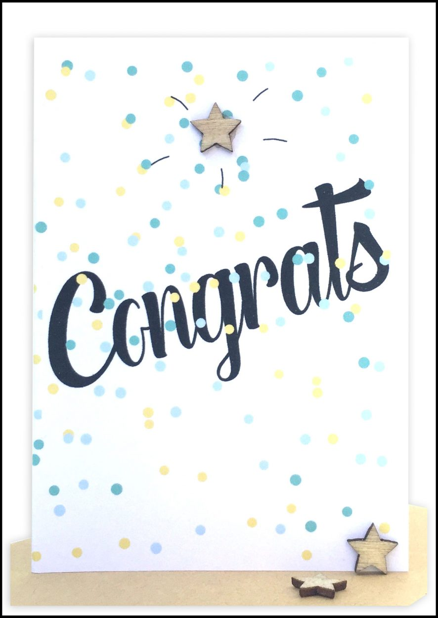 Wholesale Congratulations Gift Card