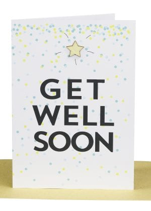 Get Well greeting card wholesale australian made