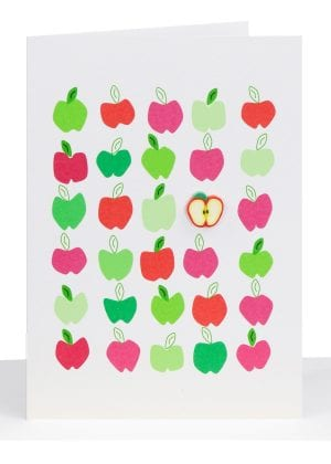 wholesale blank greeting card apples