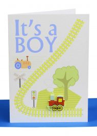 wholesale baby boy greeting card its a boy greeting card wholesale handmade