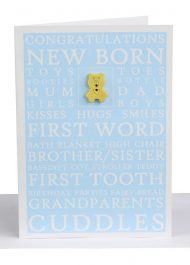 baby boy greeting card wholesale