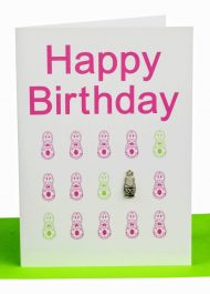 """Happy Birthday"" Babushkas Babushkas Card. Wholesale Australian Handmade Gift & Greeting Cards, Wholesale & Bulk Orders only. Baby, Birthdays, Blank, Get Well, Thank You Cards etc"
