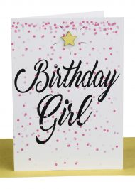 Wholesale Birthday Girl Greeting Card