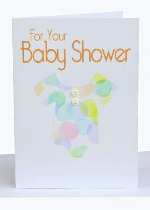 wholesale baby shower greeting card