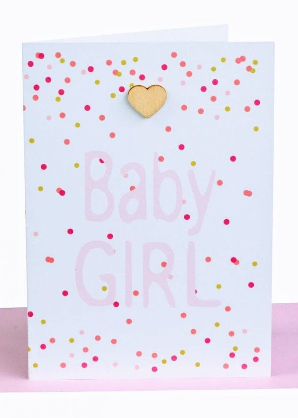 bayb girl greeting card