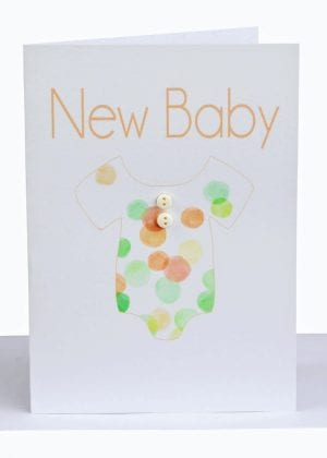 wholesale new baby greeting card