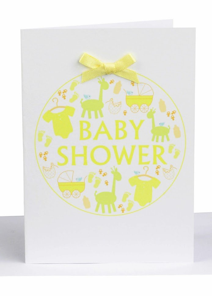 wholesale baby shower greeting card lil's handmade cards