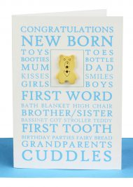 Congratulations Baby Boy Gift Card