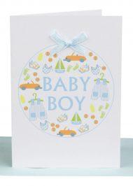 baby boy gift card wholesale australian made