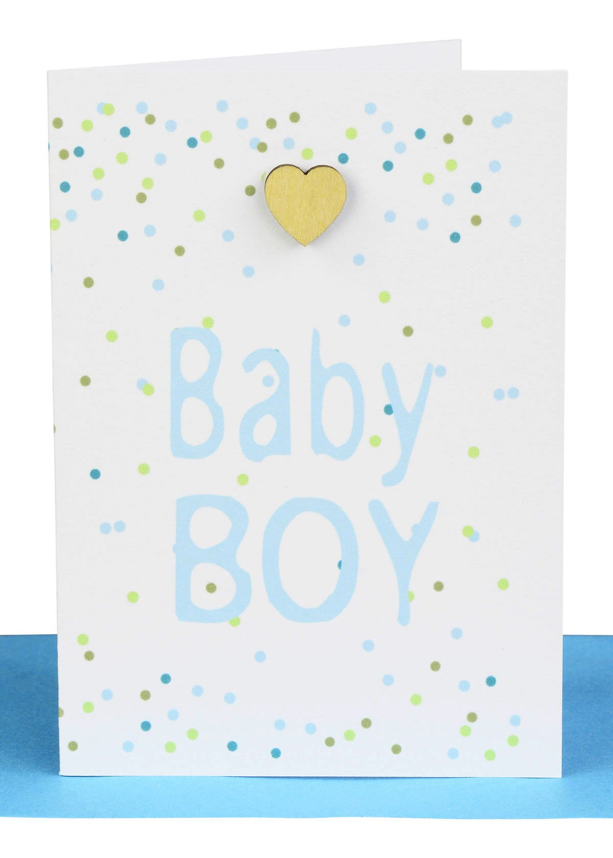 baby boy gift card wholesale australian made confetti and hearts