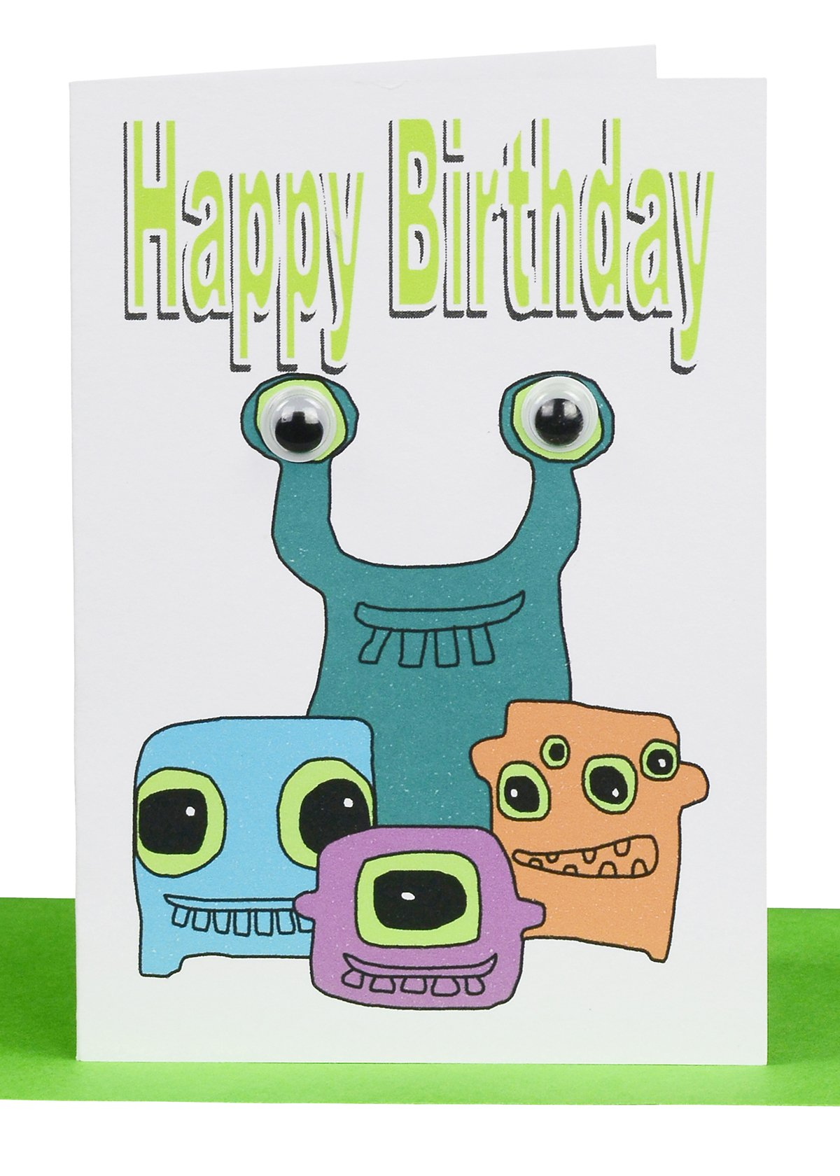 Wholesale Happy Birthday Gift Card Monsters