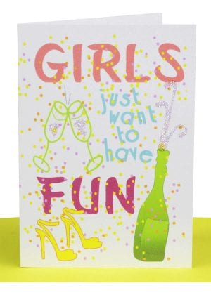 wholesale Birthday Gift Card Girls want to have fun