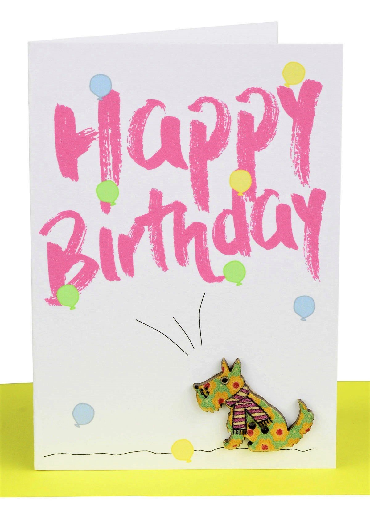 wholesale Birthday Gift Card Dog