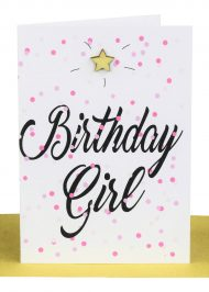 wholesale Birthday Gift Card Confetti Birthday Girl