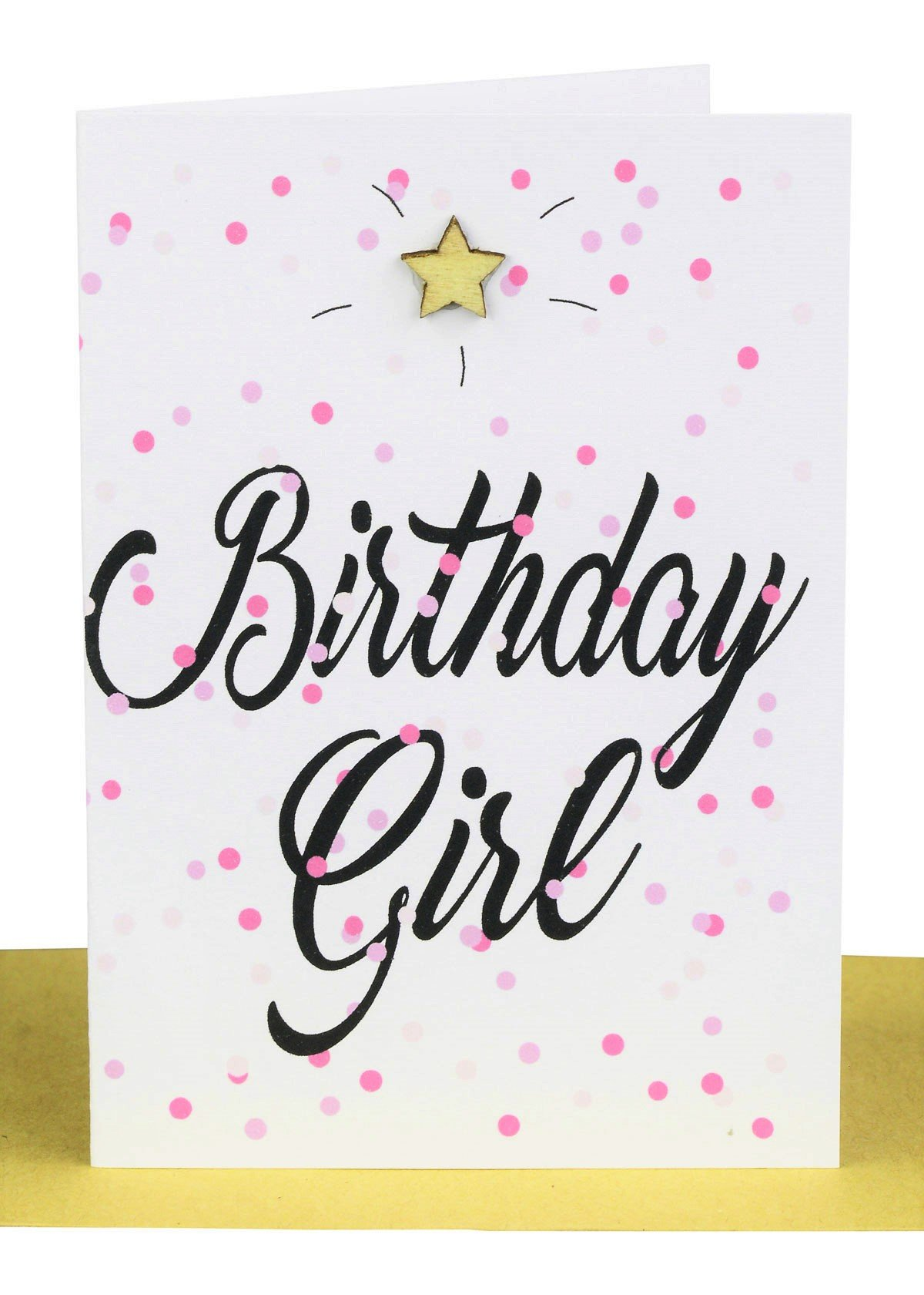 Wholesale Birthday Girl Gift Card  Lils Wholesale Cards Sydney