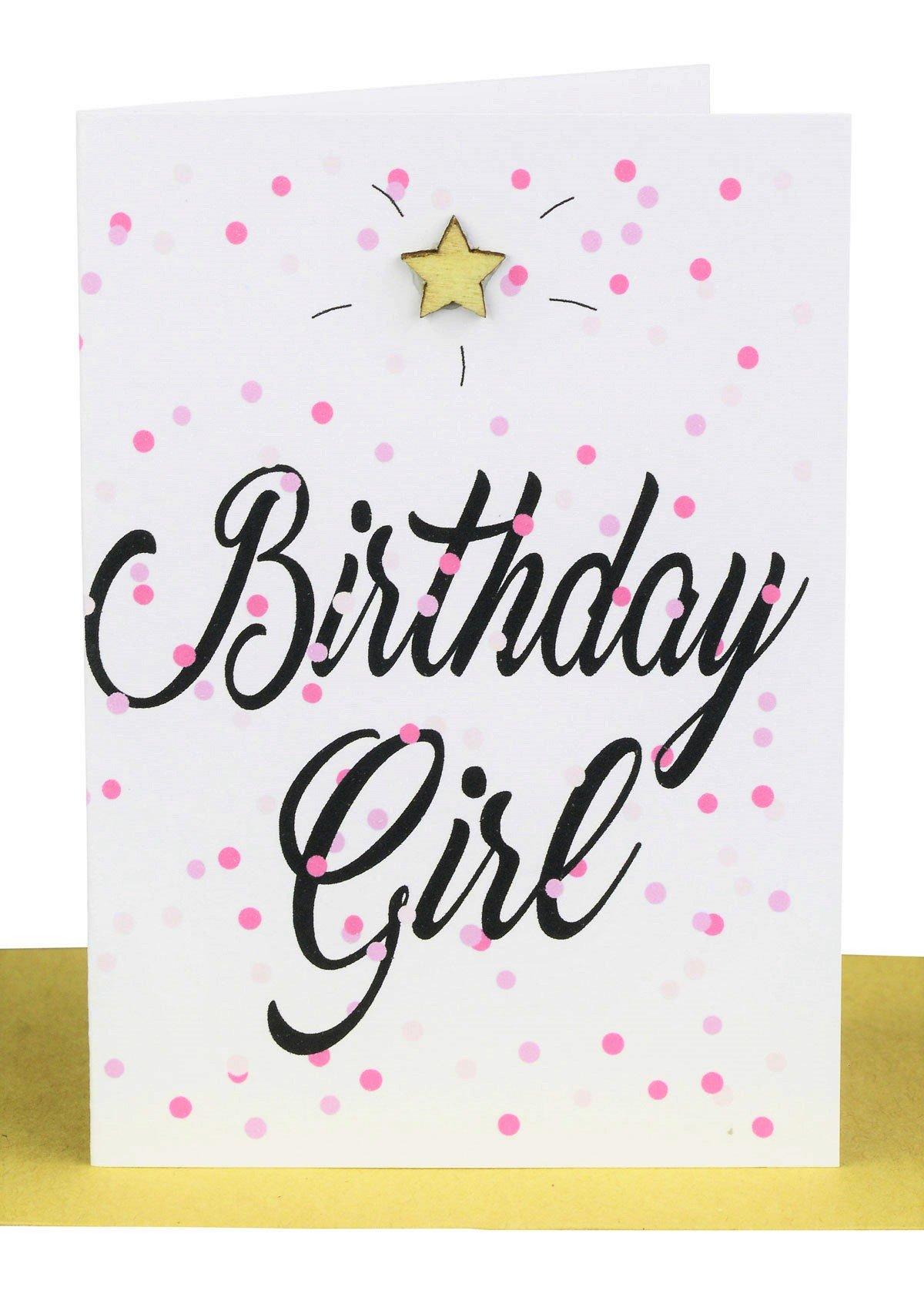 Wholesale Birthday Girl Gift Card