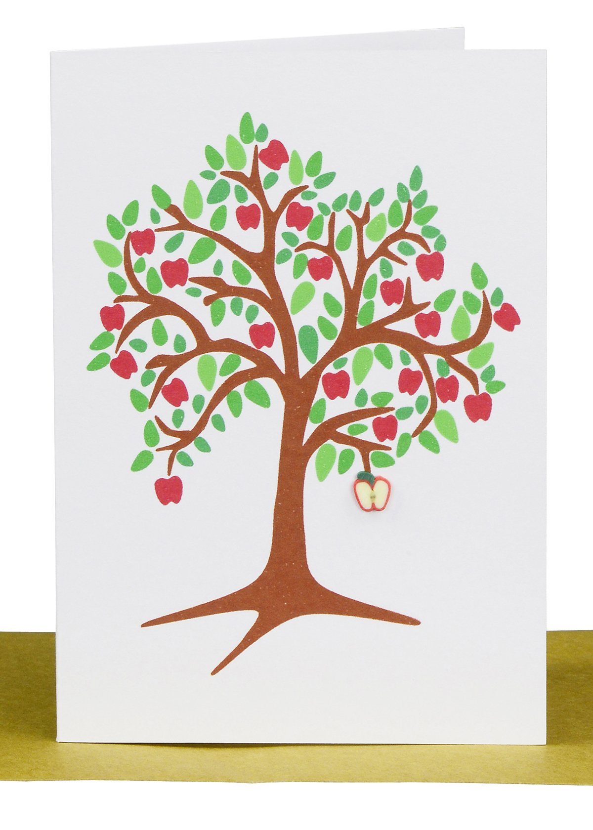 Wholesale Blank Gift Card Apple tree