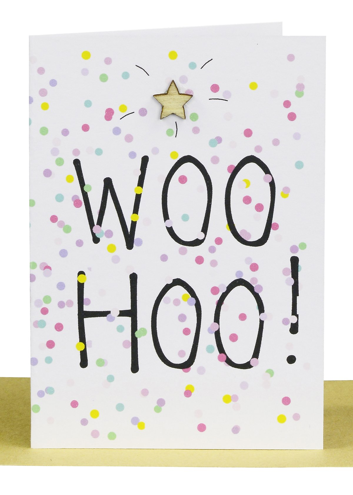 Wholesale Congratulations Gift Card - WOO HOO