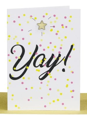 Wholesale Congratulations Gift Card - YAY