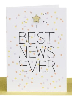 Wholesale Congratulations Gift Card -Best News Ever