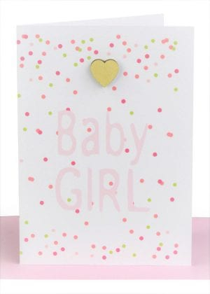 Baby Cards for Girls