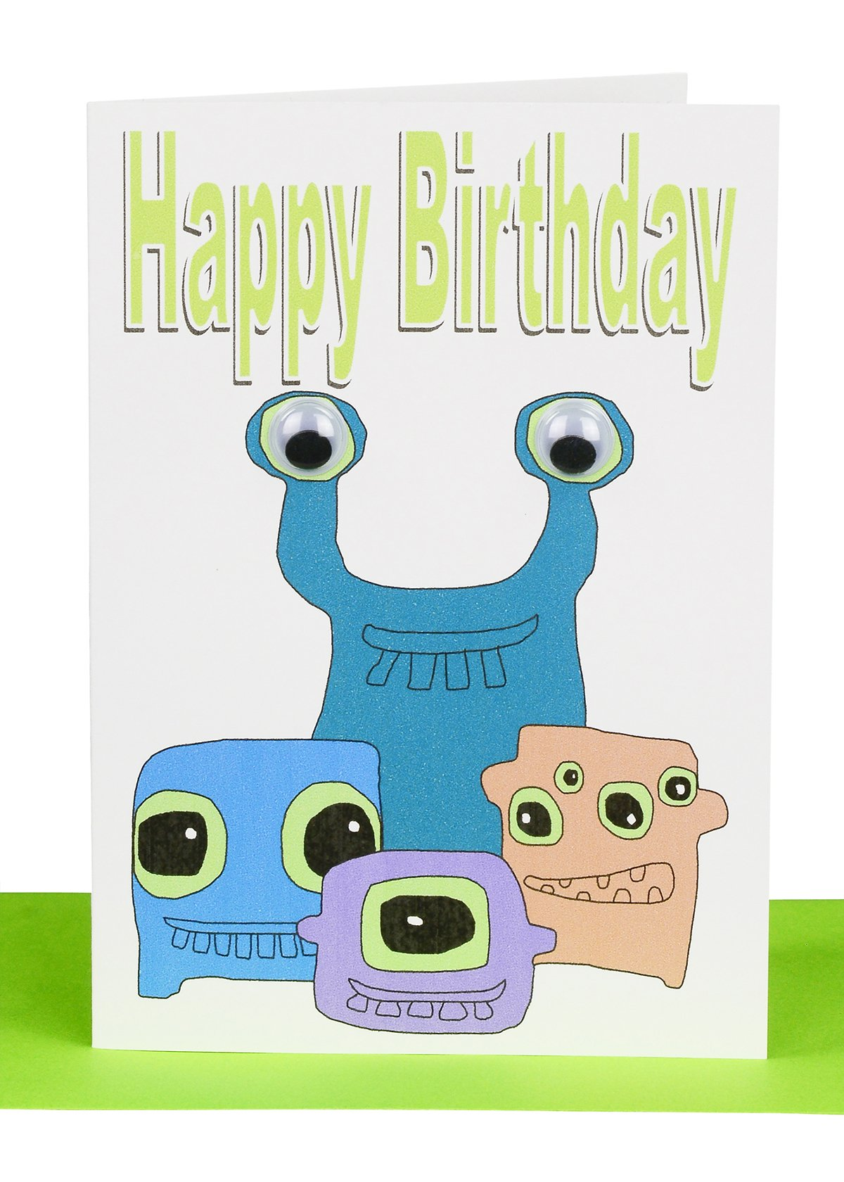 Wholesale happy birthday greeting card with a hammer boys stuff happy birthday greeting card monsters kristyandbryce Choice Image