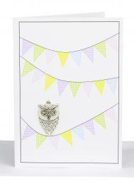 Blank greeting Card wholesale owl