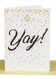 Wholesale Congratulations Greeting Card - YAY