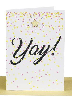 Wholesale Congratulations Greeting Card - YAY
