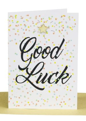Wholesale Good Luck Greeting Card