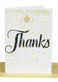 Wholesale Thanks Greeting Card