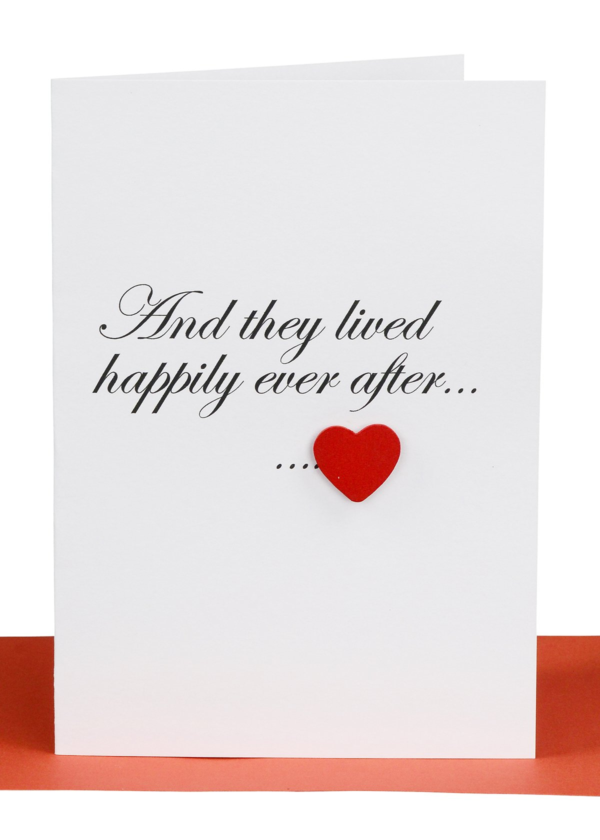 Wedding Card Red Heart Lils Handmade Wholesale Cards