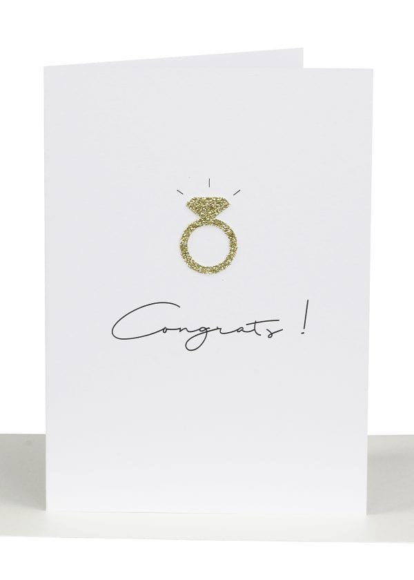 Wholesale Congratulations Greeting Card WEdding Ring