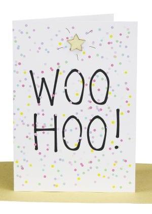 Wholesale Congratulations Greeting Card - WOO HOO