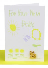 Handmade Baby Card For Your New Baby Gift Card