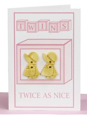 Wholesale Twin Girls Card