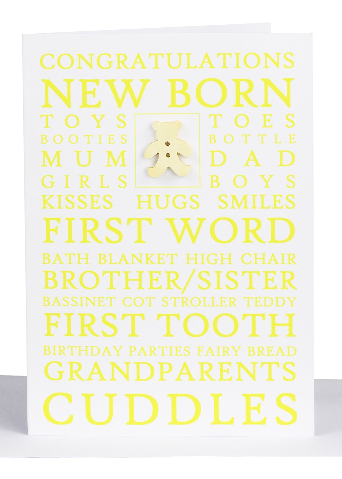 Wholesale Congratulations Baby Greeting Card Lils Cards