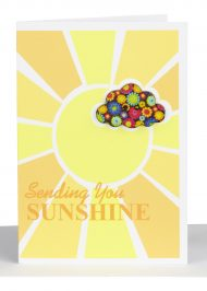 Sympathy Gift Card - Sending you Sunshine