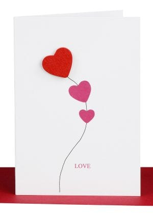 Valentines Day Cards Love Card Red Heart
