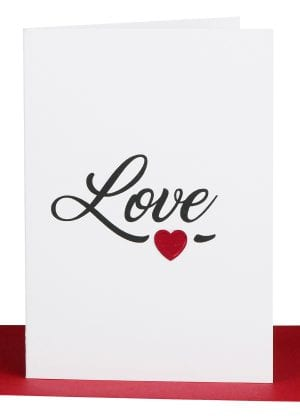 Love Gift Card Large Love