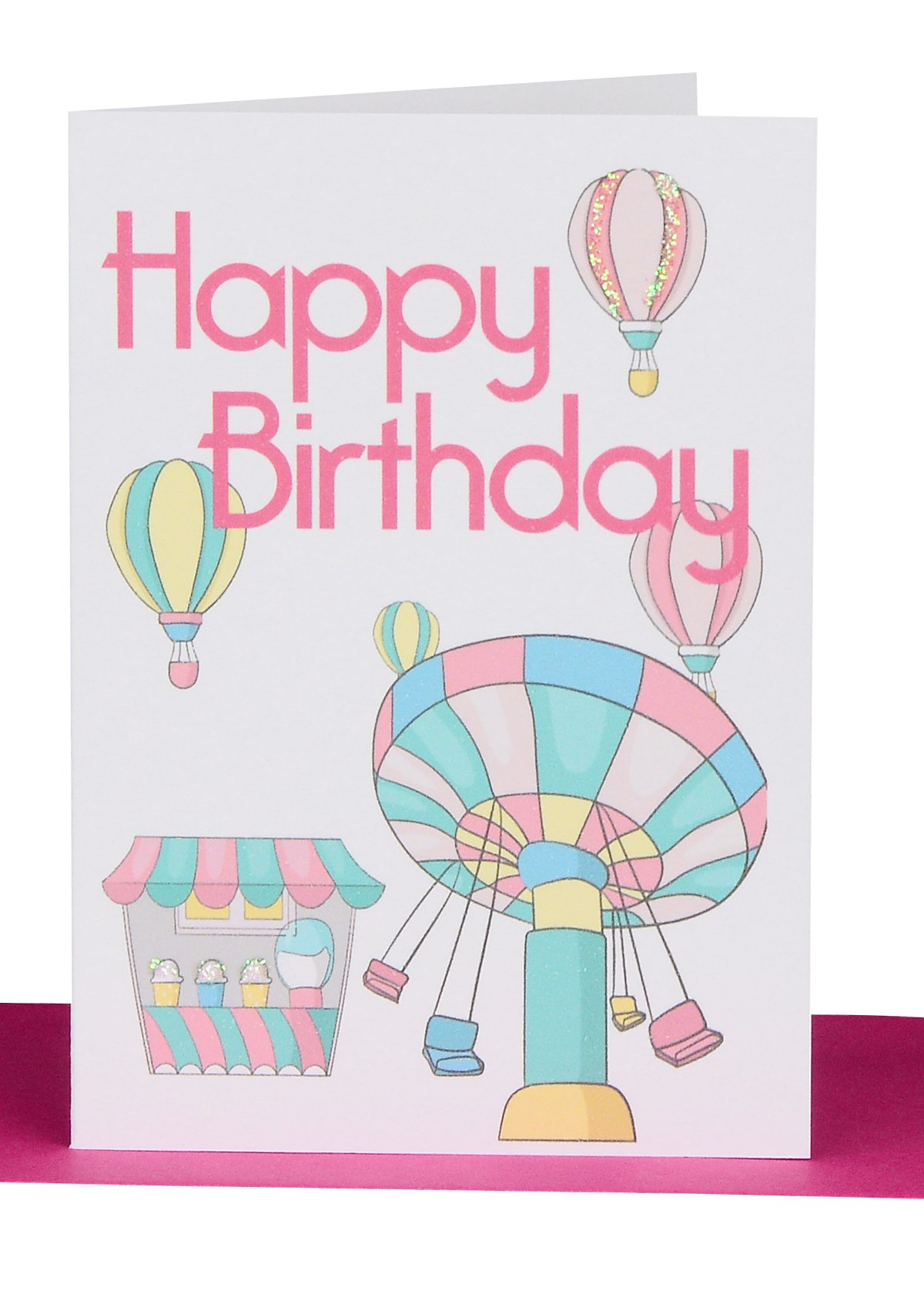 Wholesale Happy Birthday Small Gift Card Theme Park BG44